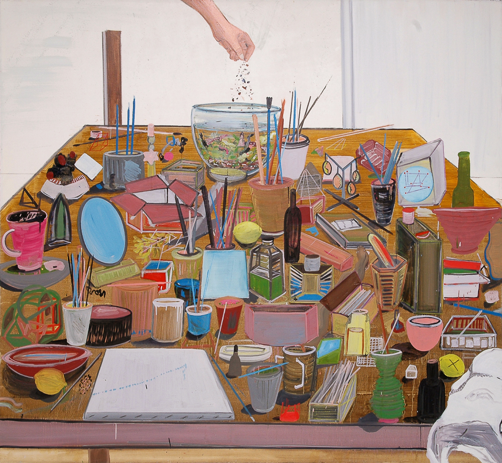 All I Need, 2008, Oil on canvas, 158x178.5 cm